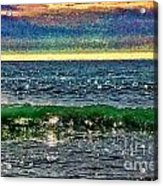 Late Afternoon Ocean Acrylic Print