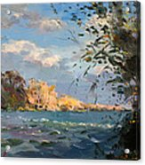 Late Afternoon On Goat Island Acrylic Print