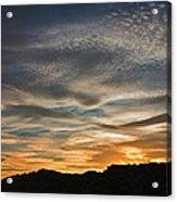 Late Afternoon Sky Acrylic Print