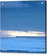 Late Afternoon Storm Antarctica Acrylic Print