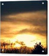 Late April Nebraska Sunset Acrylic Print
