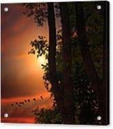 Late August Sunset Acrylic Print