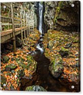 Late Autumn At The Fall Of Song Acrylic Print