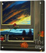 Late Autumn Breeze By Christopher Shellhammer Acrylic Print