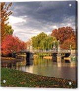 Late Autumn Acrylic Print by Joann Vitali