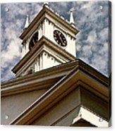 Late For Church Acrylic Print by Lorenzo Laiken