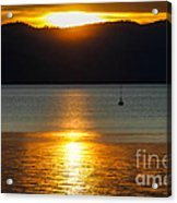 Late Summer Sunset Acrylic Print