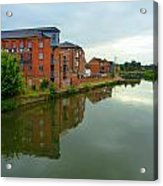 Latimer And Crick Building In Northampton Acrylic Print