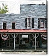 Latimore's Store - Perryville Ky Acrylic Print by Thia Stover