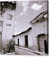 The Alleys Of Cuzco Acrylic Print