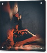 Latin Dancer Acrylic Print by Stelios Kleanthous