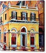 Latrobe Building On Royal Street Acrylic Print