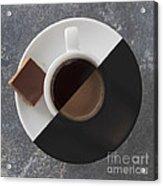 Latte Or Espresso Acrylic Print