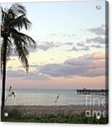 Lauderdale By The Sea Florida Sunset Acrylic Print