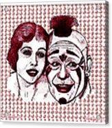 Laugh Clown Laugh Acrylic Print