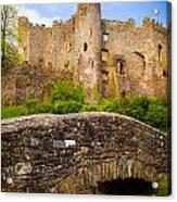 Laugharne Castle Acrylic Print