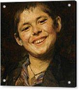 Laughing Boy Acrylic Print