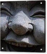 Laughing Buddah Acrylic Print