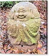 Laughing Forest Buddha Acrylic Print