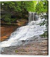 Laughing Whitefish Waterfall Acrylic Print