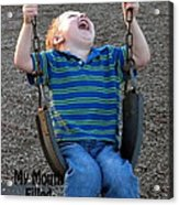 Laughter In The Park Acrylic Print