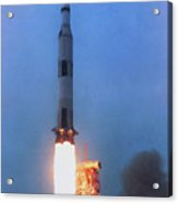 Launch Of Apollo 13 On A Saturn V Rocket Acrylic Print