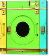 Laundromat Drying Machines Three 20130801 Acrylic Print by Wingsdomain Art and Photography
