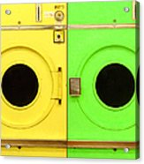 Laundromat Drying Machines Two 20130801a Acrylic Print