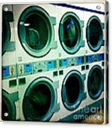 Laundromat Acrylic Print