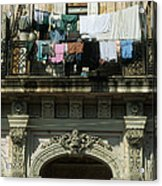 Laundry Day Acrylic Print