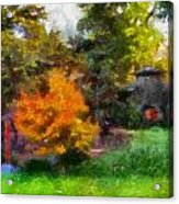 Laura Bradley Park Japanese Garden 02 Acrylic Print