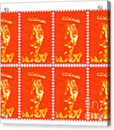 Stamps Acrylic Print