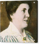 Laura Ingalls Wilder (1867-1957) Acrylic Print