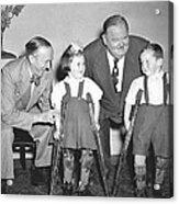 Laurel And Hardy In Ireland Acrylic Print
