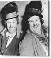 Laurel And Hardy Acrylic Print