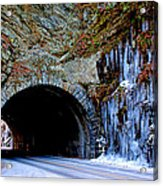 Laurel Creek Road Tunnel Acrylic Print