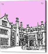 Laurel Hall In Pink  Acrylic Print by Adendorff Design