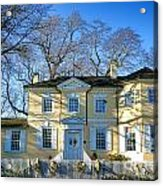 Laurel Hill Mansion Acrylic Print by Olivier Le Queinec