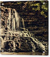 Laurel Run Falls Acrylic Print