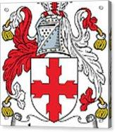 Laurence Coat Of Arms Irish Acrylic Print