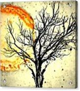Lava Sky Acrylic Print