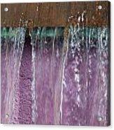 Lavendar Falls Acrylic Print