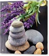 Lavender Aromatherapy Acrylic Print