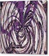 Lavender Bead Art Acrylic Print