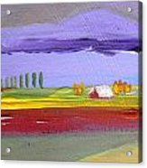 Lavender Hills Acrylic Print