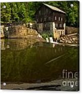 Lawrence County Grist Mill Acrylic Print