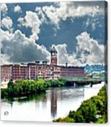 Lawrence Ma Historic Clock Tower Acrylic Print