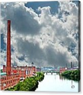 Lawrence Ma Skyline Acrylic Print