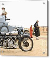 Lawrence Of Arabia Display At The Goodwood Revival Meeting Acrylic Print