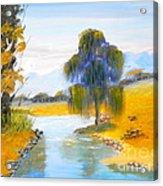 Lawson River Acrylic Print